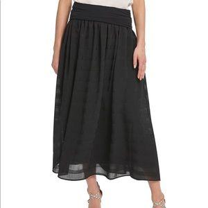 NWT. DKNY pull-on midi skirt
